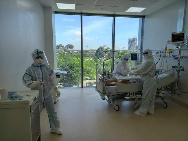 Chùm ảnh: Trong phòng bệnh bệnh nhân nguy kịch của Bệnh viện Hồi sức COVID-19 quy mô 1.000 giường TP.HCM - Ảnh 4.