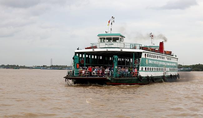 TP Hồ Chí Minh: Từ 0 giờ ngày 30/7, phà Cát Lái, Bình Khánh dừng phục vụ hành khách - Ảnh 1.