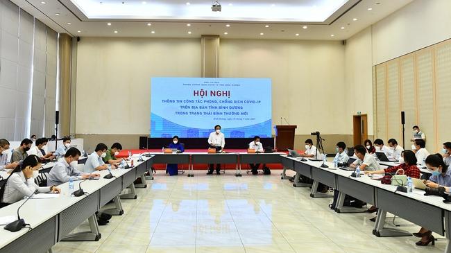 Bình Dương công bố kế hoạch khôi phục kinh tế trong trạng thái 'bình thường mới' - Ảnh 1.