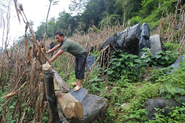 Lào Cai: Hỏa tốc di dời 16 hộ dân ở Mường Khương ra khỏi chân núi đá lăn - Ảnh 1.