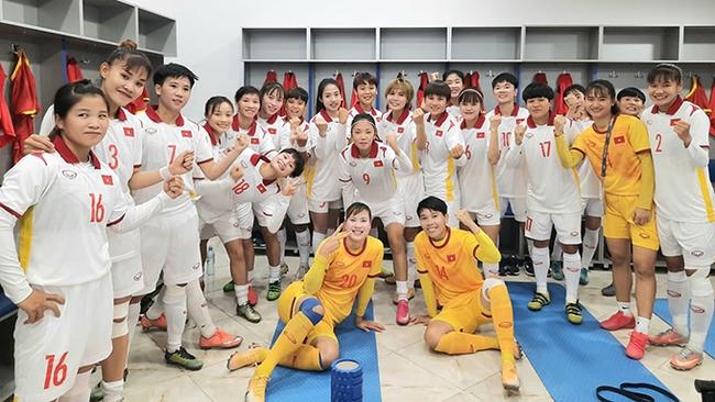 Đội tuyển nữ Việt Nam dội 'mưa gôn' 16 bàn vào lưới Maldives - Ảnh 2.