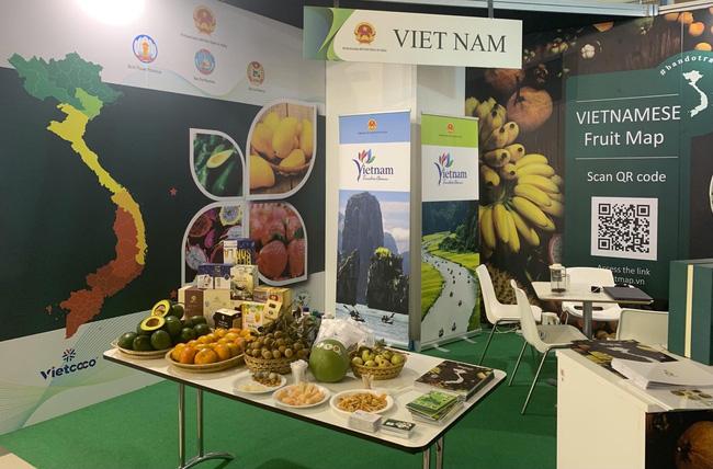 Trái cây Việt Nam hút khách tại Hội chợ quốc tế lớn ở Italia - Ảnh 1.