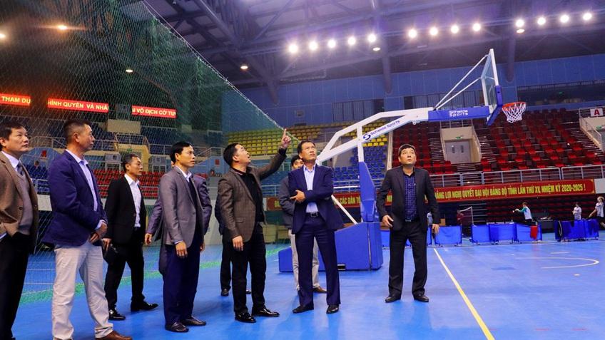 Kiểm tra công tác chuẩn bị SEA Games 31 tại Quảng Ninh