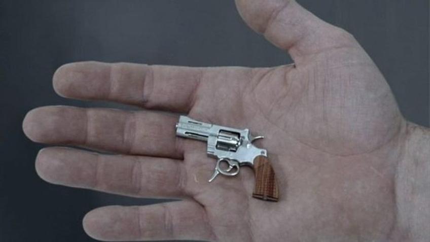 Khẩu súng nhỏ nhất thế giới nặng 19 gam có thể gây chết người