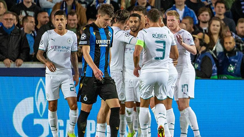 Mahrez tỏa sáng trong ngày Man City dạo chơi trên đất Bỉ