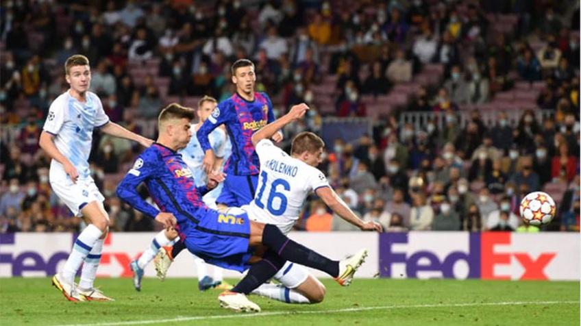 Pique lập công, Barca cắt mạch thua ở Champions League