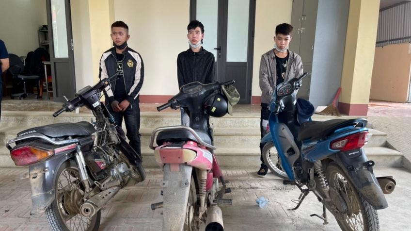 Bắt giữ nhóm thanh, thiếu niên ở 3 tỉnh lên Sơn La trộm cắp xe máy