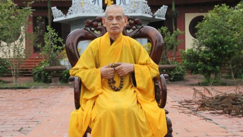 Đại lão Hòa thượng Thích Phổ Tuệ - Pháp chủ Giáo hội Phật giáo VN viên tịch