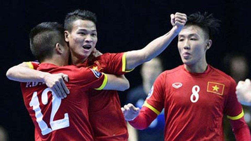 Việt Nam cùng Thái Lan đá play-off để tranh suất dự World Cup futsal