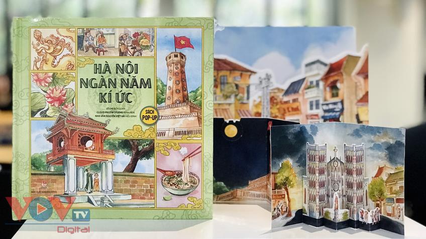 Khám phá danh thắng Thủ đô bằng hình 3D trong 'Hà Nội ngàn năm kí ức'