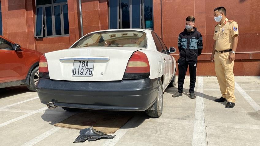 Một tài xế ở Điện Biên bị phạt 45 triệu đồng, chủ yếu do vi phạm nồng độ cồn