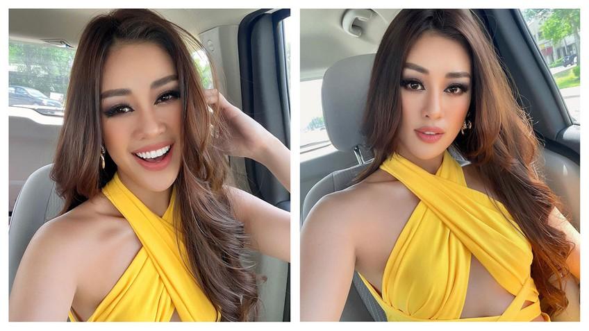 Khánh Vân dự Miss Universe 2020: Từ thần thái đến body 'nóng bỏng mắt' thế này chắc đối thủ cũng phải dè chừng