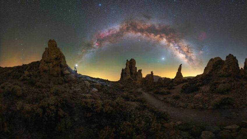 Mãn nhãn với loạt ảnh ấn tượng chụp dải Ngân Hà