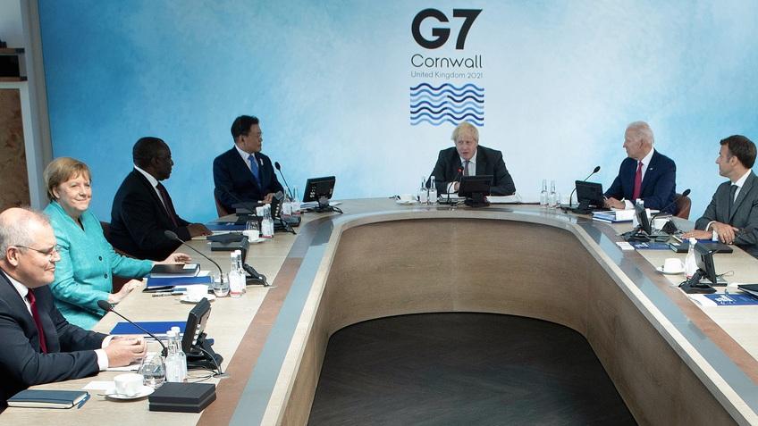 Hội nghị thượng đỉnh G7: Cam kết viện trợ 1 tỷ liều vaccine
