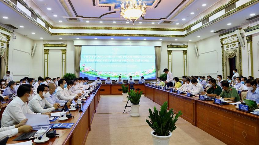 TP.HCM thành lập Tổ tư vấn về phòng chống dịch và phục hồi kinh tế