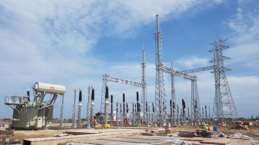 Cận cảnh công trình Nhà máy Điện gió Kosy Bạc Liêu đang về đích