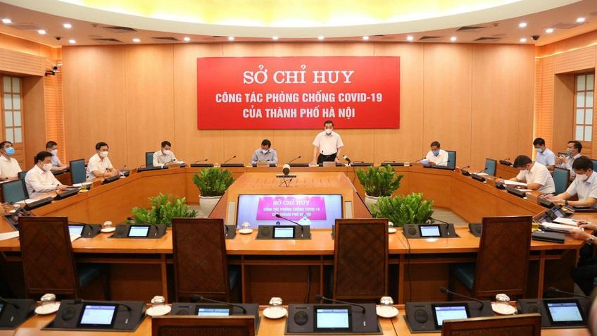 Hà Nội: Tăng cườngtrách nhiệm cán bộ, kêu gọi nhân dân thực hiện nghiêm giãn cách xã hội