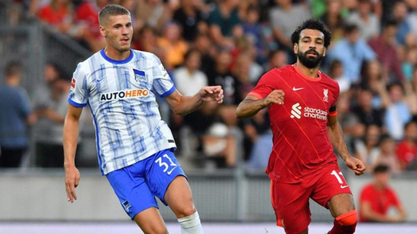 Hertha Berlin 4-3 Liverpool: Van Dijk tái xuất