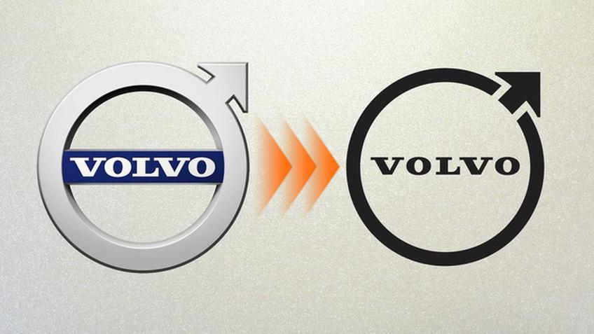 Volvo âm thầm thay đổi logo