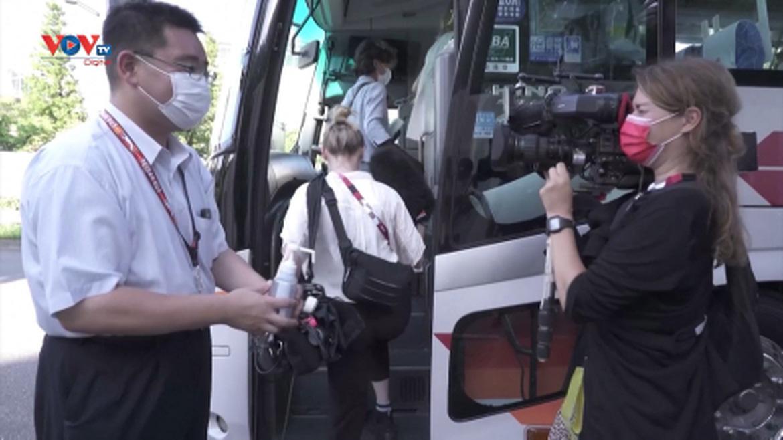 Nhật Bản tổ chức tour tham quan đặc biệt cho các phóng viên quốc tế
