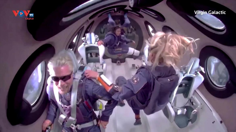Bắt đầu bán vé du hành trên tàu vũ trụ của Virgin Galactic