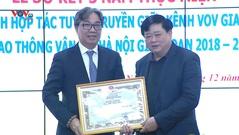 Sơ kết 3 năm phối hợp giữa Kênh VOV Giao thông và Sở Giao thông Vận tải Hà Nội