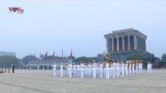 Lăng Chủ tịch Hồ Chí Minh sẵn sàng đón đoàn Đại biểu dự Đại hội toàn quốc lần thứ XIII của Đảng vào viếng Bác