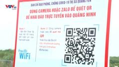 Quảng Ninh: Khai báo y tế điện tử đẩy nhanh quá trình kiểm soát người ra vào tỉnh