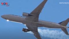 Sự cố máy bay Boeing 777: Nguyên nhân là do giảm độ bền kim loại, tạm dừng sử dụng trên toàn cầu