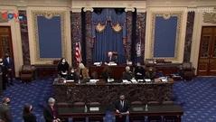 Mỹ: Thượng viện điều chỉnh thời gian tổ chức phiên tòa luận tội cựu Tổng thống Trump