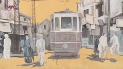 Hà Nội xưa và nay trong tranh bích họa trên phố cổ