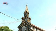 Chiêm ngưỡng nhà thờ chính toà Kon Tum - công trình tôn giáo hơn 100 năm của Tây Nguyên