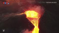 Ngoạn mục những cảnh tượng núi lửa phun trào