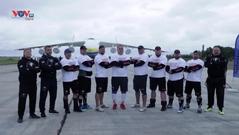Ukraine: Kỷ lục kéo chiếc máy bay chở hàng lớn nhất và nặng nhất thế giới