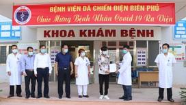 Một trong ba bệnh nhân mắc COVID-19 ở Điện Biên khỏi bệnh