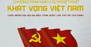 Trực tiếp: Giao lưu nghệ thuật Khát vọng Việt Nam