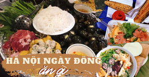 Những món ăn làm ấm lòng đêm đông Hà Nội
