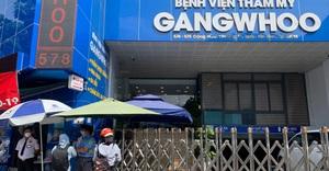 Bệnh nhân tử vong sau hút mỡ bụng, Bệnh viện thẩm mỹ Gangwhoo tạm ngưng hoạt động