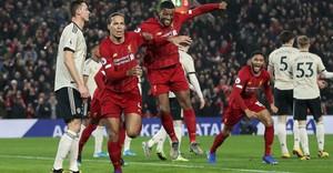 Trận Man United vs Liverpool xác định thời điểm đá lại