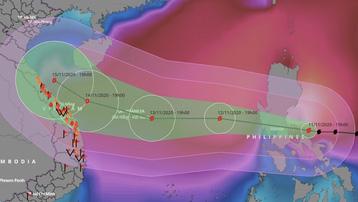 Bão Vamco kèm mưa to gió lớn khiến 1 người thiệt mạng và 3 người mất tích tại Philippines