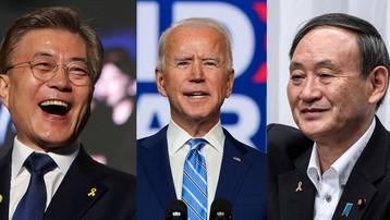 Lãnh đạo Nhật Bản, Hàn Quốcđiện đàm với ông J.Biden, khẳng định quan hệ đồng minh