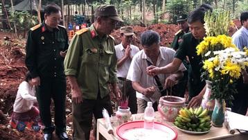 Tìm thấy 40 hài cốt liệt sĩ tại khu vực bệnh xá trong chiến tranh ở Bình Phước