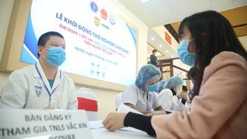 """Nhiều tình nguyện viên đăng ký tiêm thử nghiệm vaccine Covid-19 """"made in Vietnam"""""""