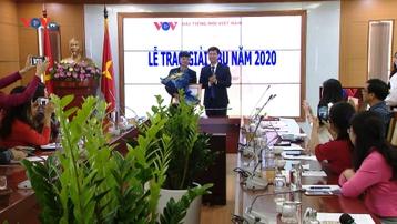VOV đạt giải Khuyến khích tại Lễ trao Giải ABU 2020