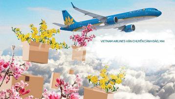 Vietnam Airlines nhận vận chuyển đào, mai dịp Tết Tân Sửu 2021