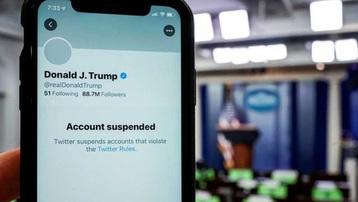 Sau tài khoản cá nhân, Twitter tiếp tục khóa vĩnh viễn tài khoản chiến dịch của ông Trump