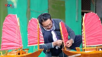 Người nghệ nhân giữ bí quyết đóng thuyền buồm ba vát