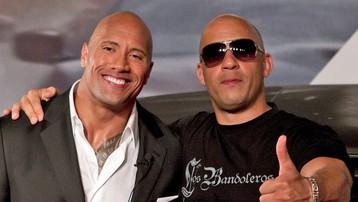 The Rock - Vin Diesel và những cặp sao không ưa nhau ngoài đời
