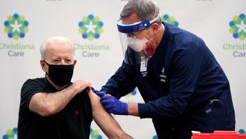 Tổng thống đắc cử Mỹ Joe Biden được tiêm mũi vaccine ngừa Covid-19 thứ 2