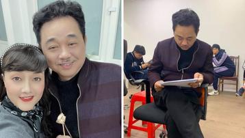 """Cuối cùng thì """"Ngọc Hoàng"""" Quốc Khánh cũng đã báo danh ở buổi tập kịch bản Táo Quân 2021"""